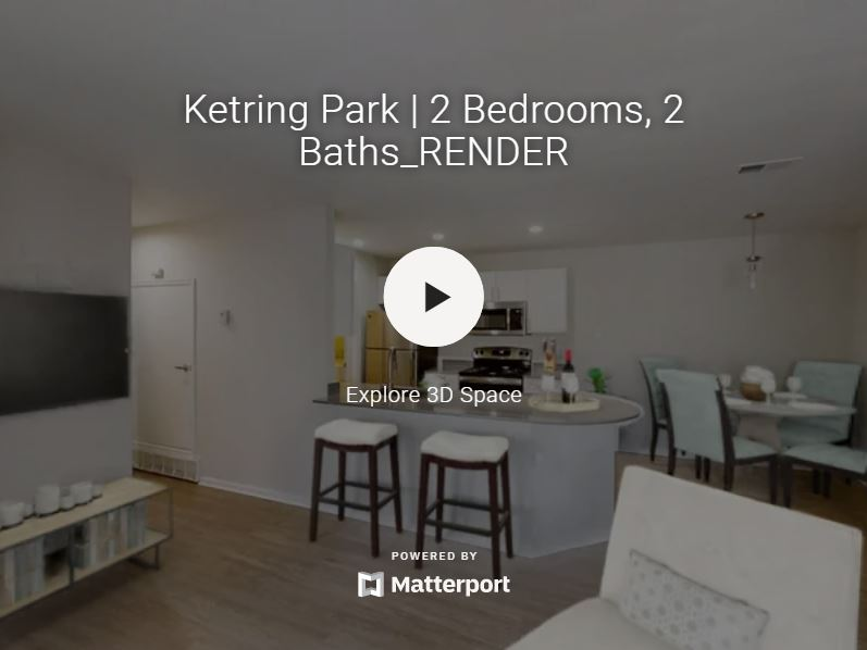 3D Virtual Tour of Ketring Park Apartments