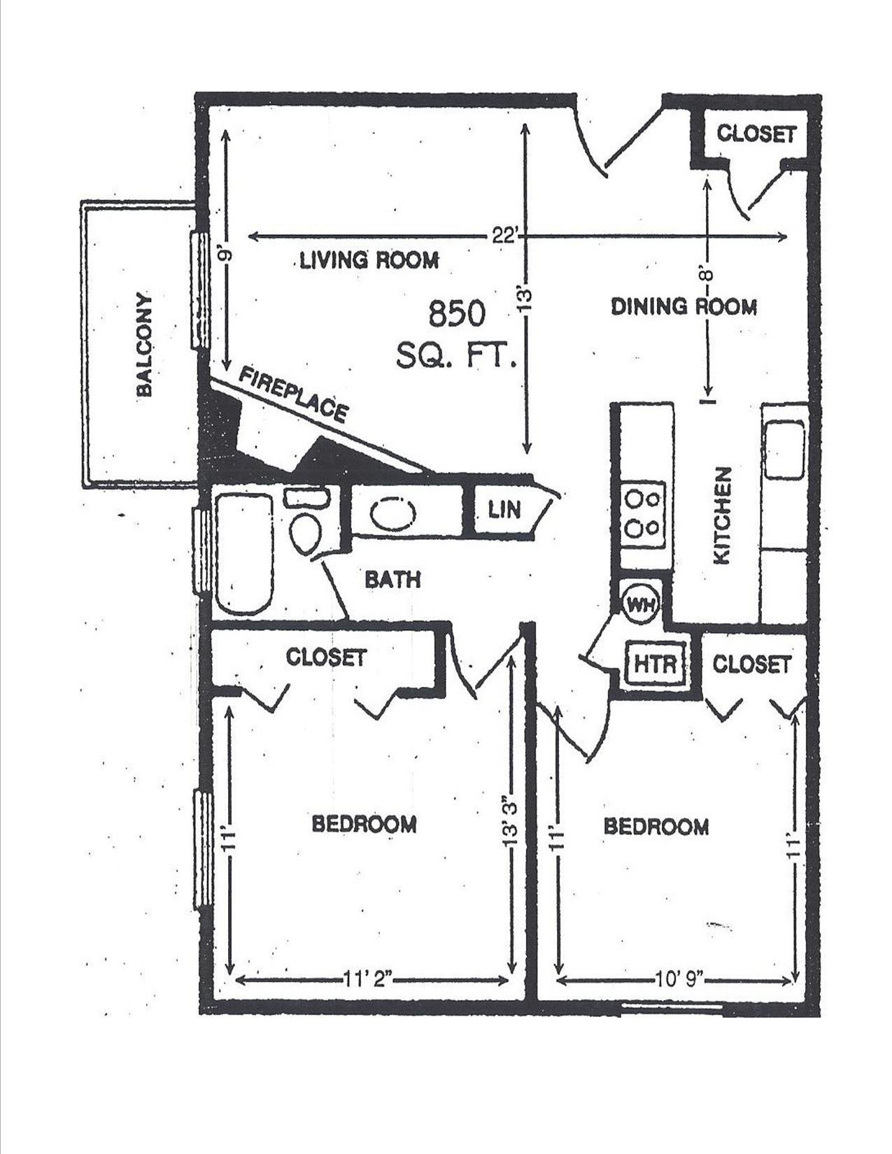 2 Bedroom 1 Bath apartment available today at Aspenwood - CO in Aurora