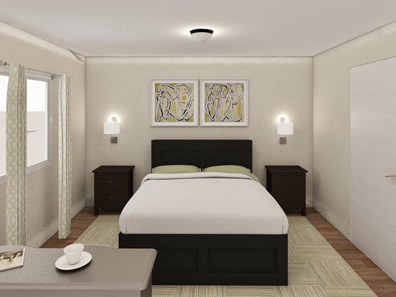 Bedroom | Edge at Fitzsimons  Apartments