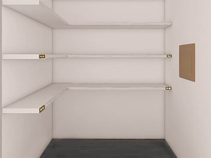 Edge at Fitzsimons Apartments | Closet
