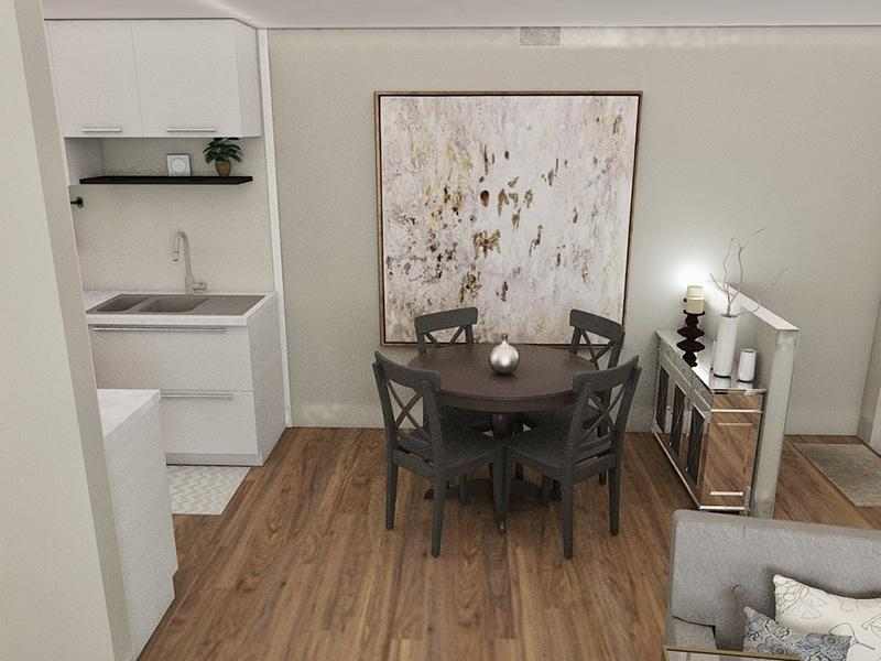 Dining Room Rendering | Edge at Fitzsimons Apartments