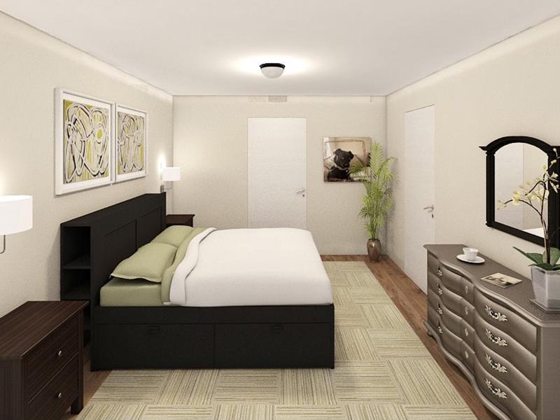 Bedroom Interior | Edge at Fitzsimons Apartments
