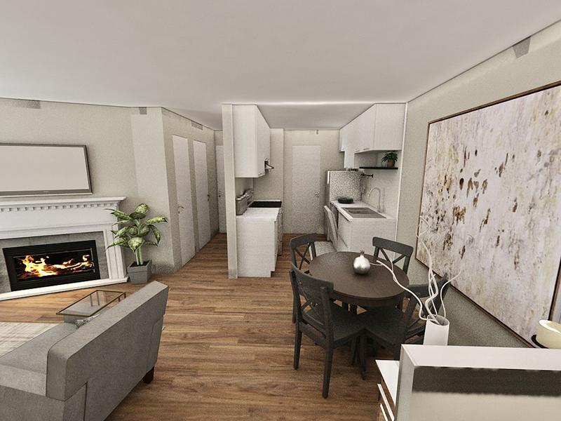 Interior Rendering | Edge at Fitzsimons  Apartments