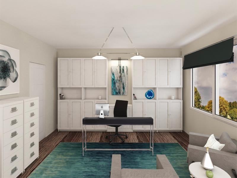 Bedroom Interior Rendering | Edge at Fitzsimons  Apartments