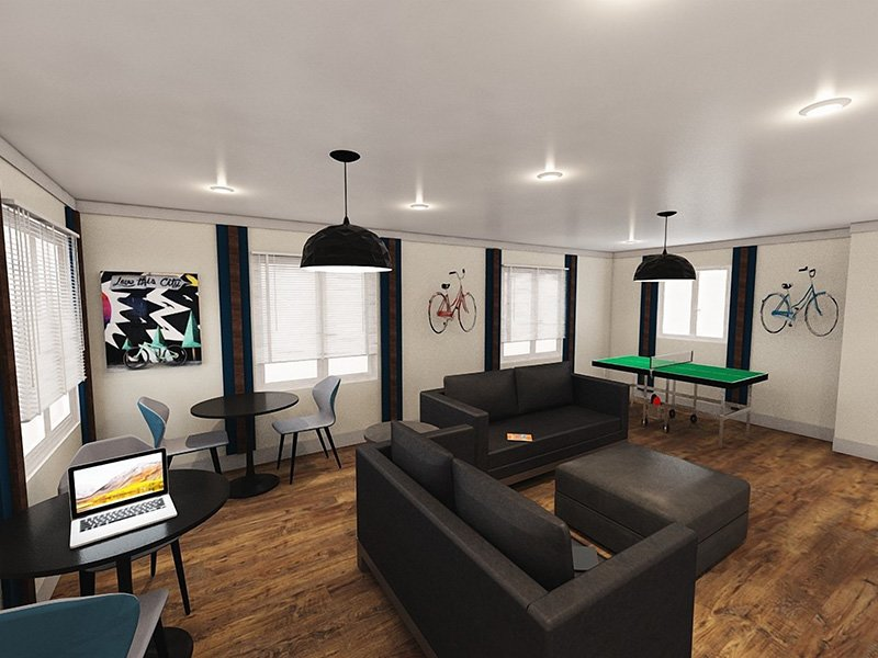 Clubhouse Interior | Edge at Fitzsimmons