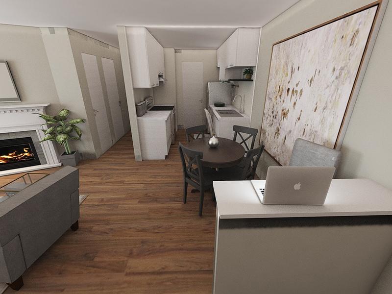 Spacious Interior Design | Edge at Fitzsimons Apartments