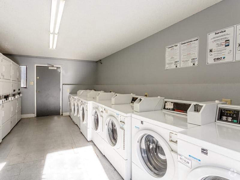 Laundry Facility | Aspenwood Apartments