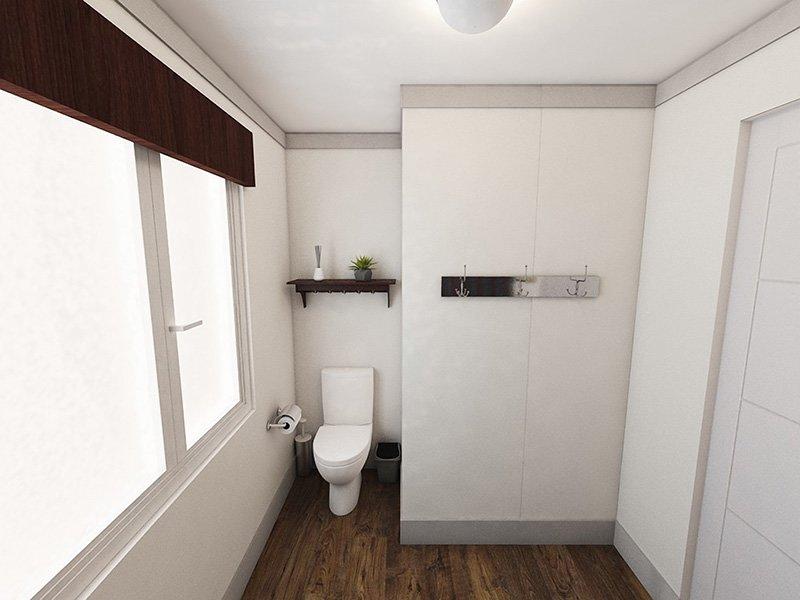 Clubroom Bathroom | Edge at Fitzsimmons