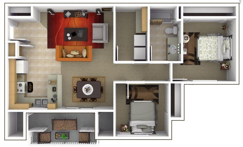 2X1 apartment available today at Green Grove in Pleasant Grove