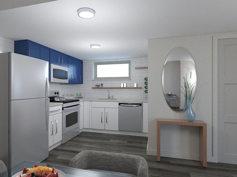 Kitchen | The Jewell Apartments