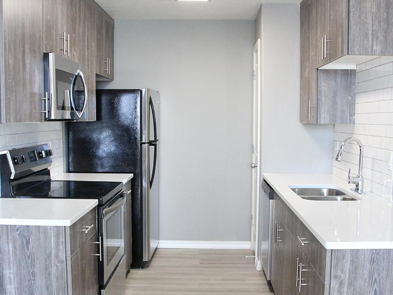 Fully Equipped Kitchen | Pleasant Springs Apartments