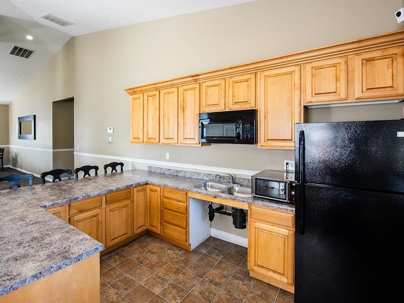 Clubhouse Kitchen | Apartments in Pleasant Grove,