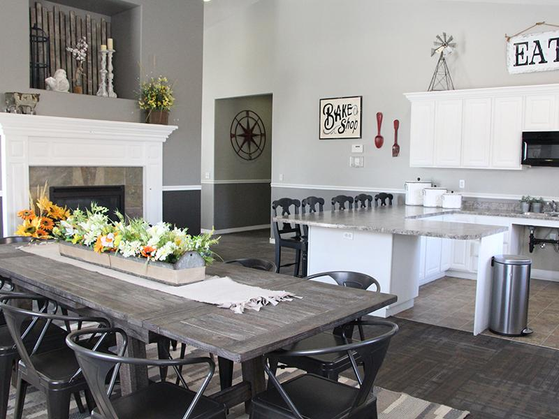 Clubhouse Interior | Pleasant Springs