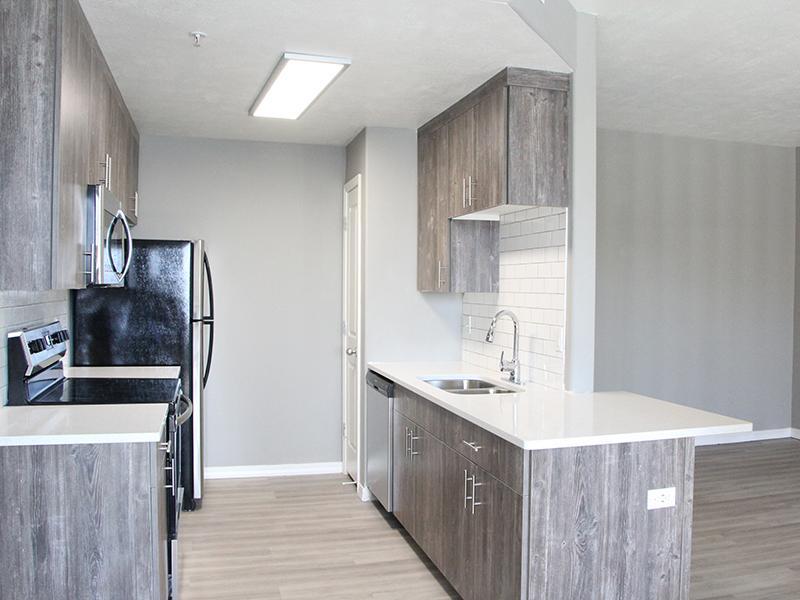 kitchen | Pleasant Springs Apartments