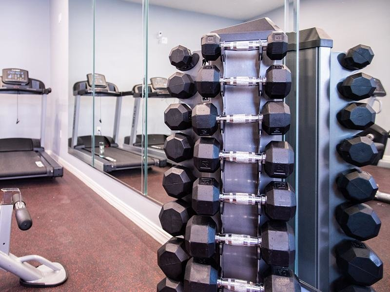 Gym | Pleasant Springs Apartments