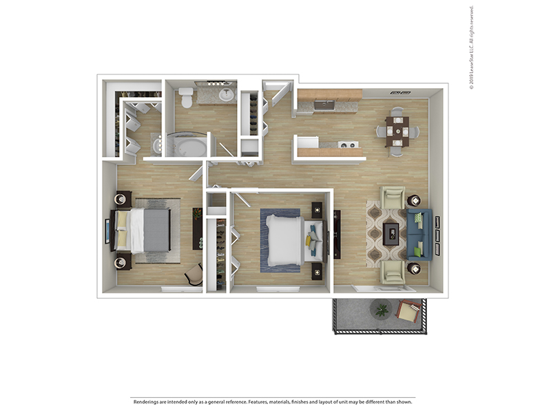 2 Bedroom 1 Bath apartment available today at Park on 14th in Longmont