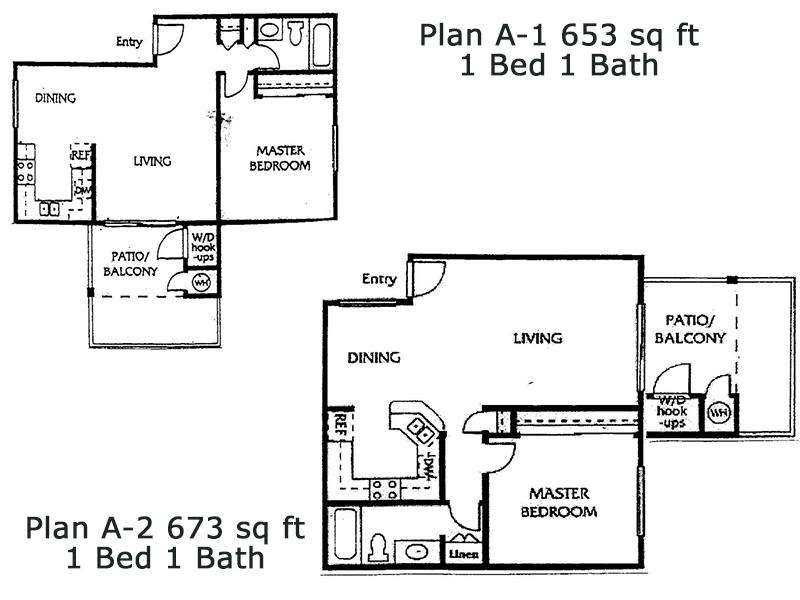 Floor Plans for Estancia Apartments in Ontario