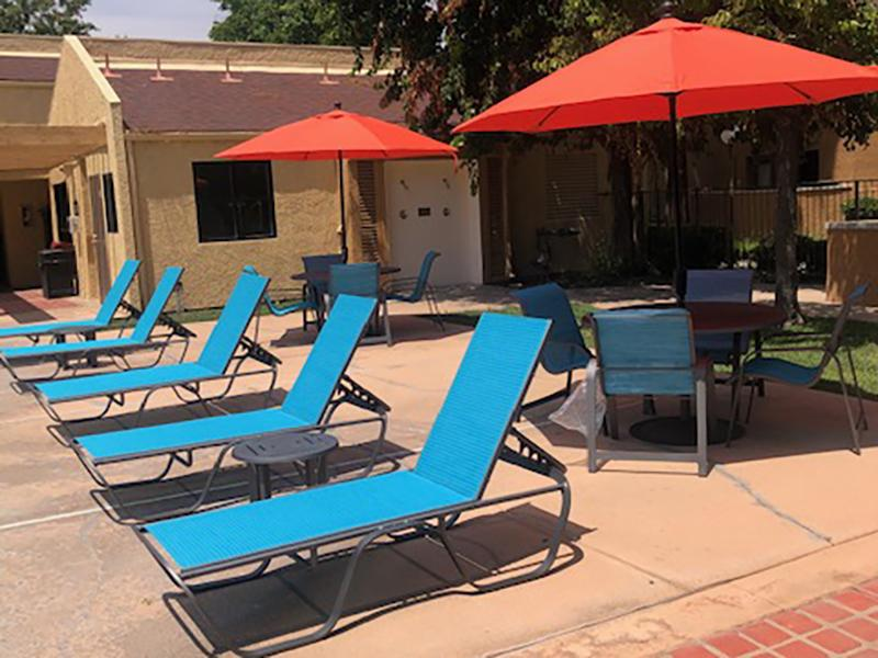 Pool Side Lounge | Estancia Apartments