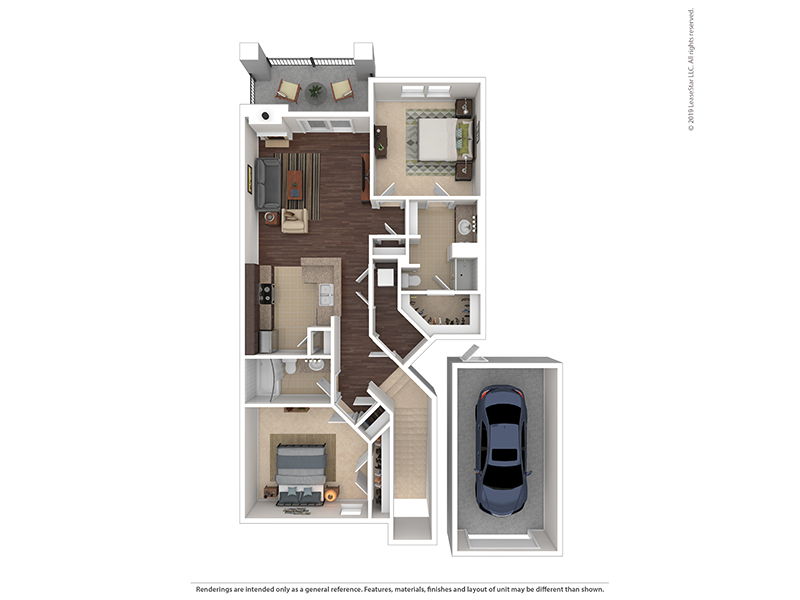 Peregrine apartment available today at The Highlands at Red Hawk in Castle Rock