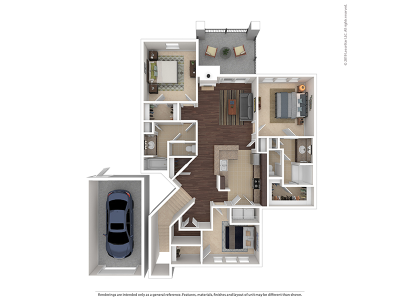 Ptarmigan apartment available today at The Highlands at Red Hawk in Castle Rock