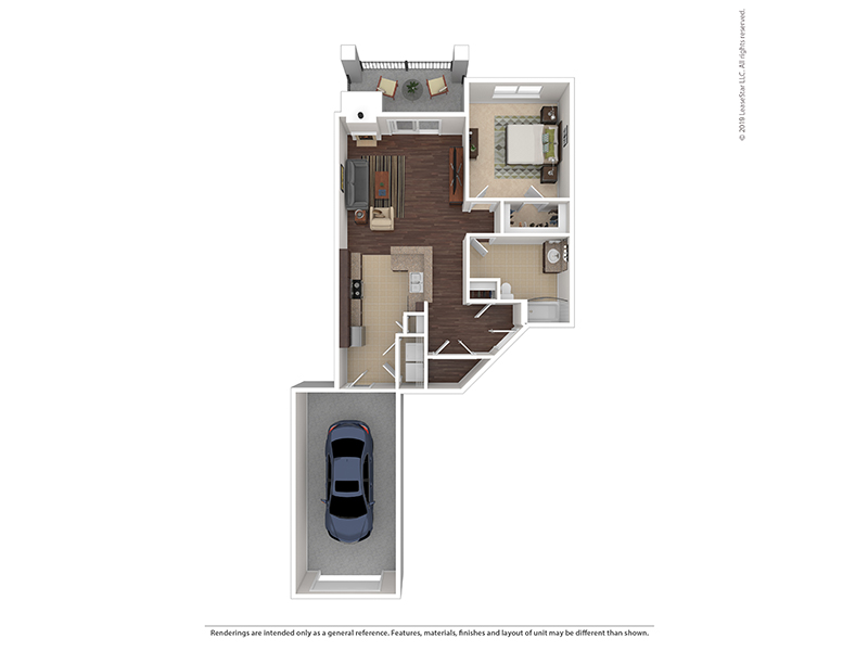 Tanager apartment available today at The Highlands at Red Hawk in Castle Rock