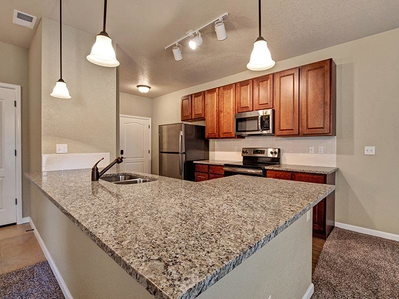Fully Equipped Kitchen | The Highlands at Red Hawk