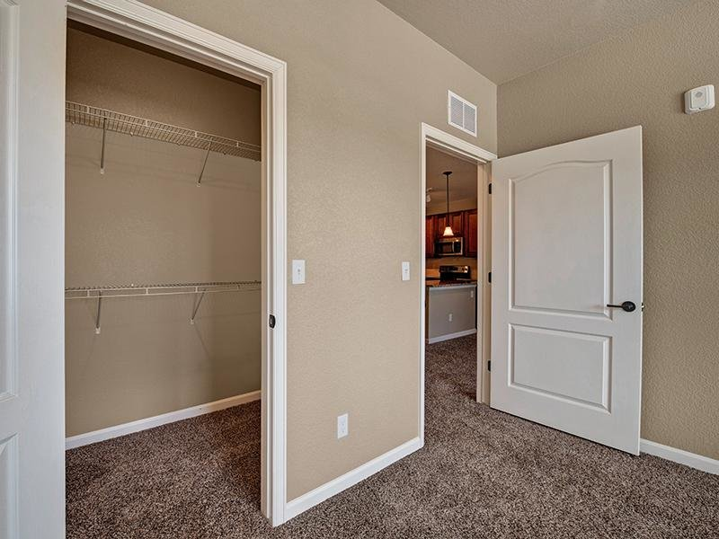 Ample Closet Space | The Highlands at Red Hawk