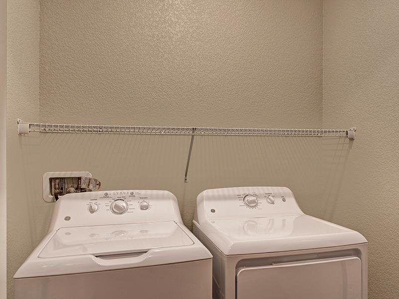 Washer & Dryer | The Highlands at Red Hawk