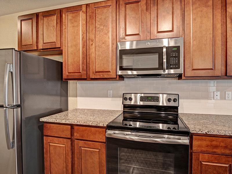 Stainless Steel Appliances | The Highlands at Red Hawk