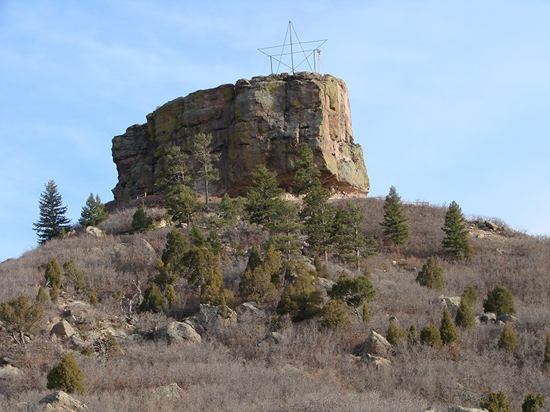 Castle Rock nearby The Highlands at Red Hawk Apartment Community