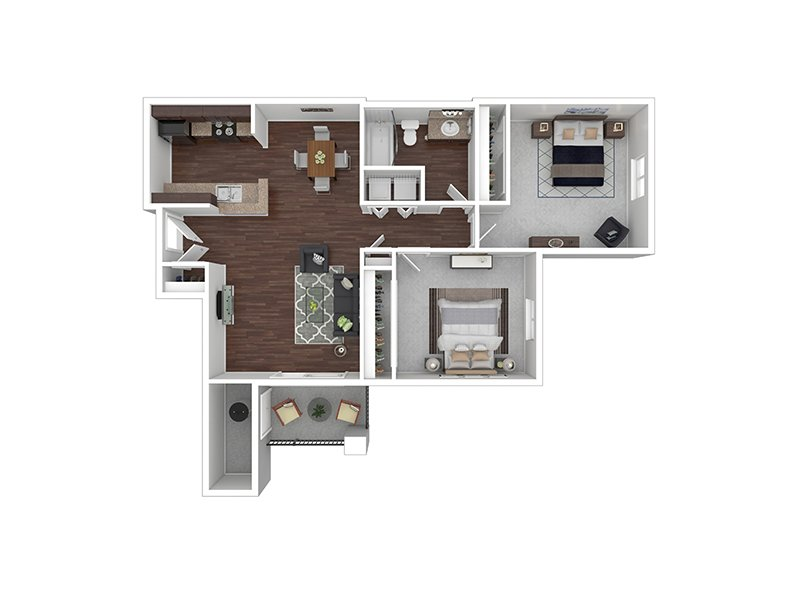 B1R apartment available today at Echo Ridge at North Hills in Northglenn