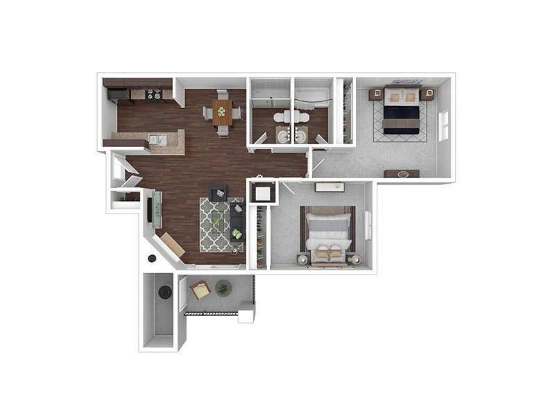 B2 apartment available today at Echo Ridge at North Hills in Northglenn