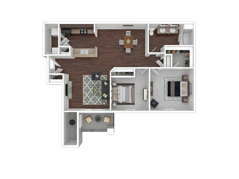 B3 apartment available today at Echo Ridge at North Hills in Northglenn