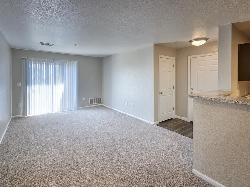 Living Room | Echo Ridge at North Hills Apartments in Northglenn, CO