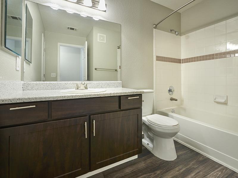 Beautiful Bathroom | Echo Ridge at North Hills Apartments in Northglenn, CO