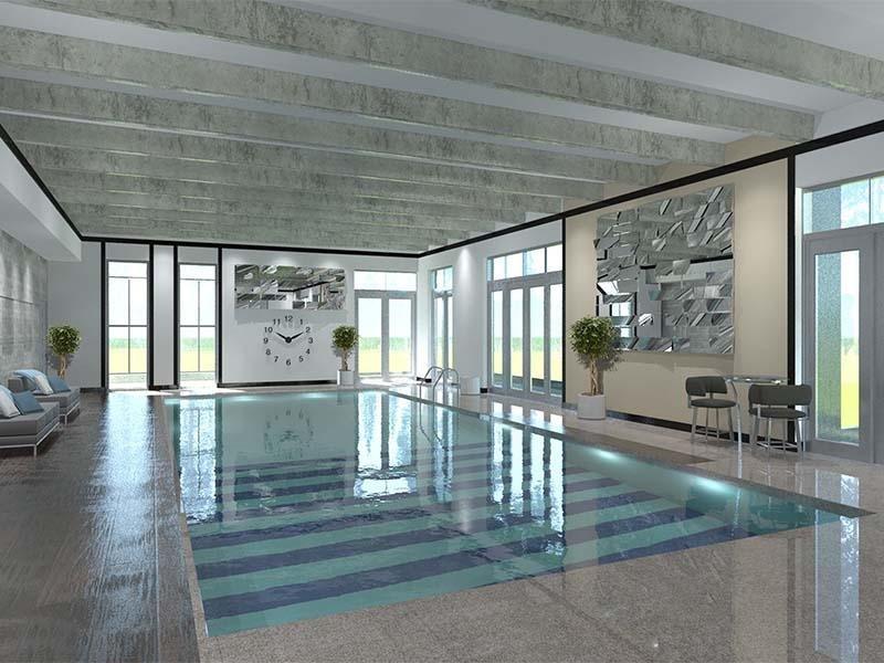 Luxe Towers Indoor Pool