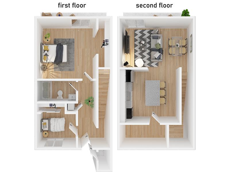 2 Bedroom 1 Bathroom apartment available today at Appian Terrace in El Sobrante