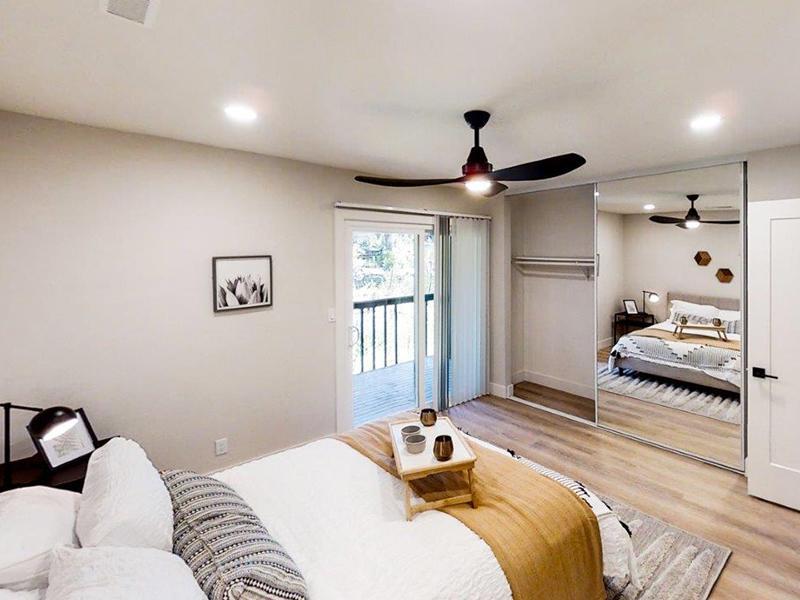 Furnished Bedroom | Appian Terrace Apartments in El Sobrante, CA
