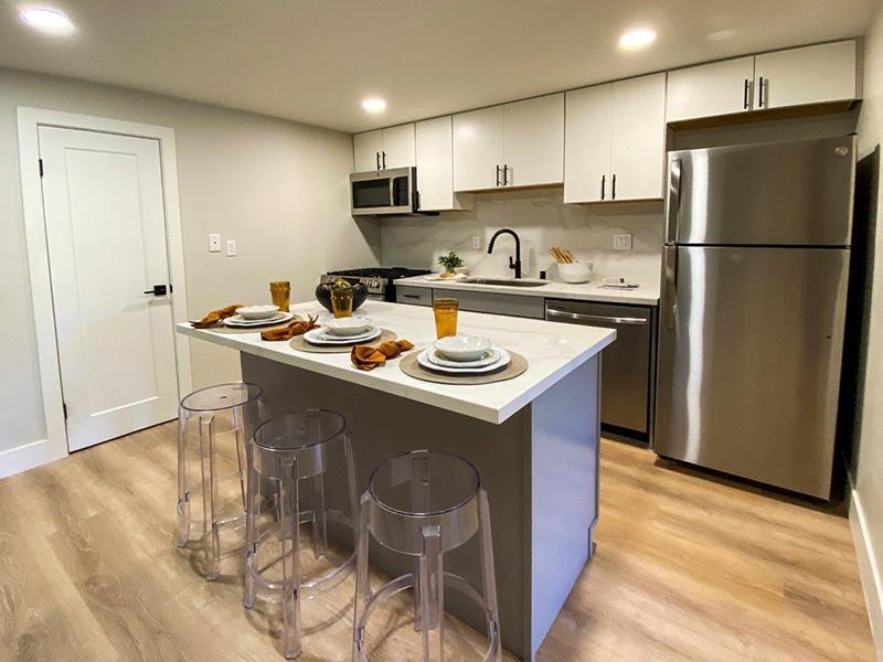 Kitchen Island | Appian Terrace Apartments in El Sobrante, CA