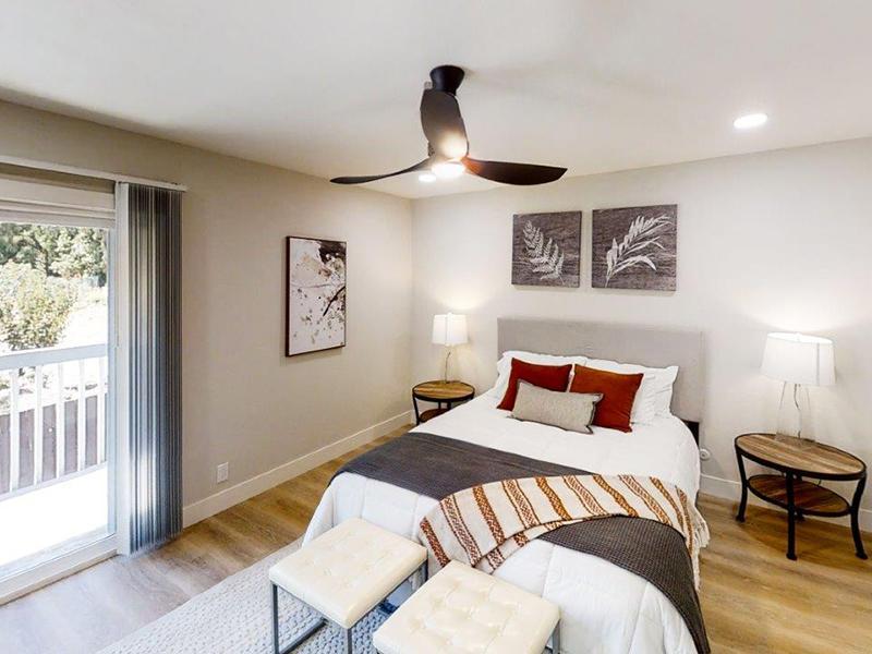 Beautiful Bedroom | Appian Terrace Apartments in El Sobrante, CA