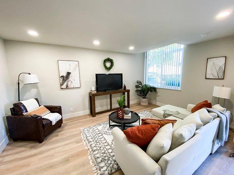 Furnished Living Room | Appian Terrace Apartments in El Sobrante, CA
