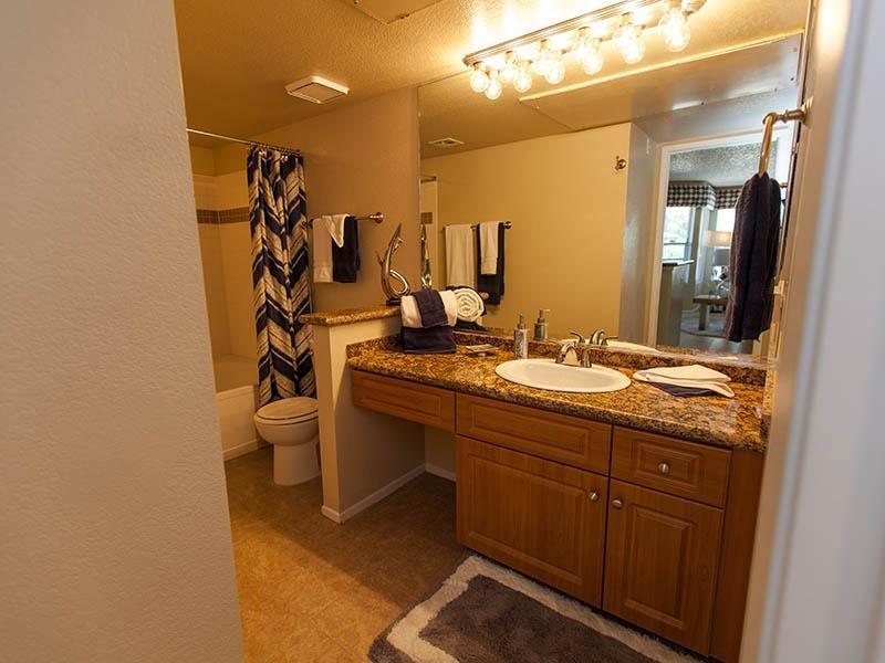 Bathroom | Tower at Tropicana in Las Vegas