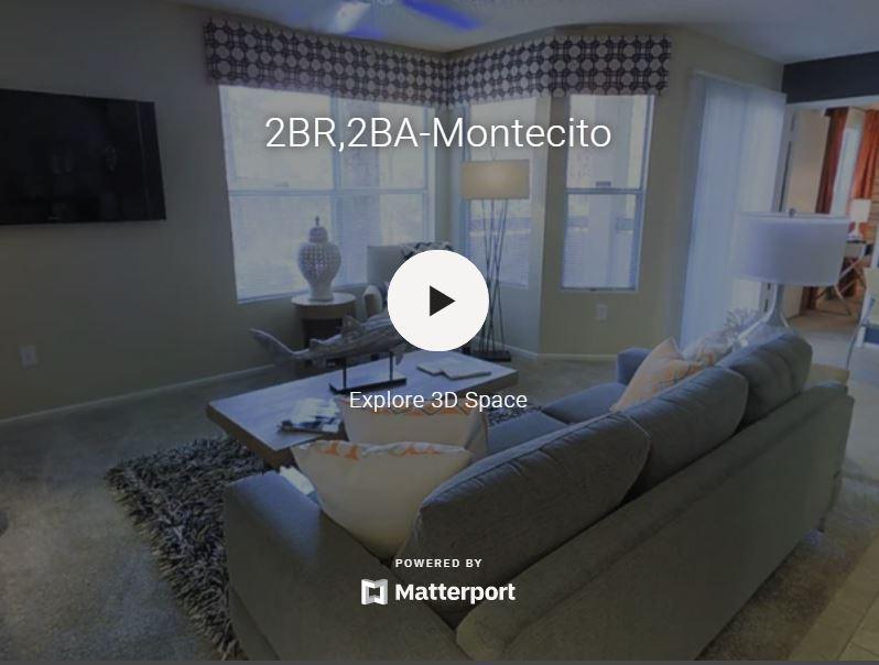 3D Virtual Tour of Tower at Tropicana Apartments