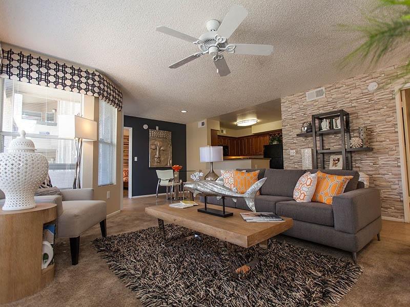 Living Room | Tower at Tropicana in Las Vegas