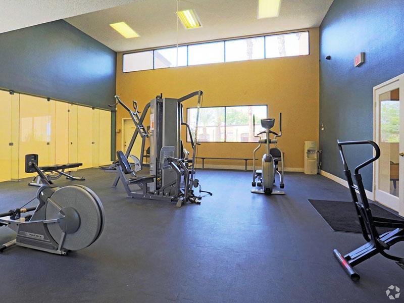 Fitness Center | Desert Ridge Apartments