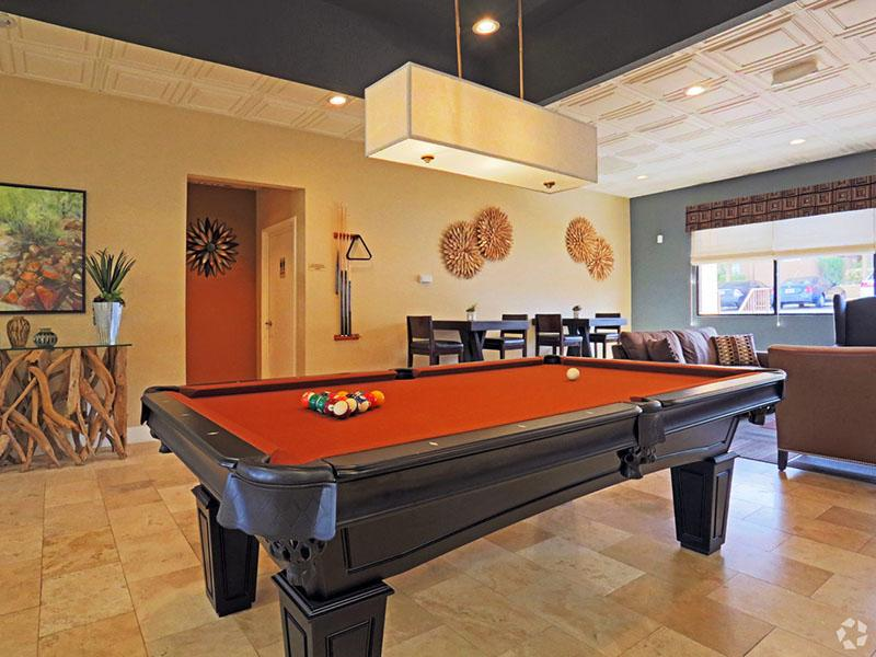 Pool Table  | Desert Ridge Apartments