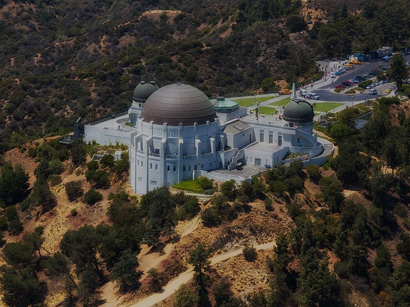 Griffith Observatory  nearby Weddington Mid-Rise Apartment Community