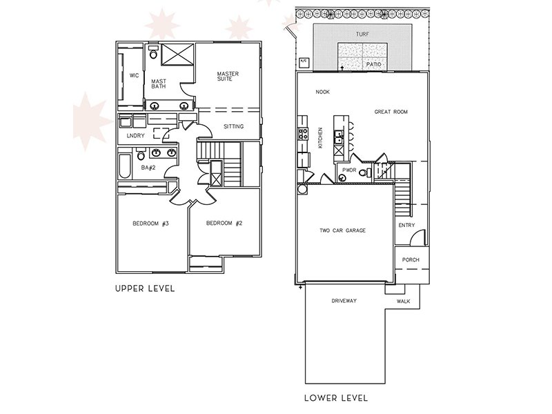View floor plan image of 3 Bedroom 2.5 Bathroom apartment available now