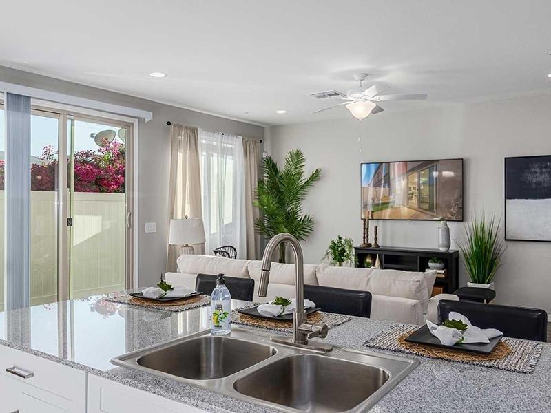 Kitchen & Living Room | Lyra Residences