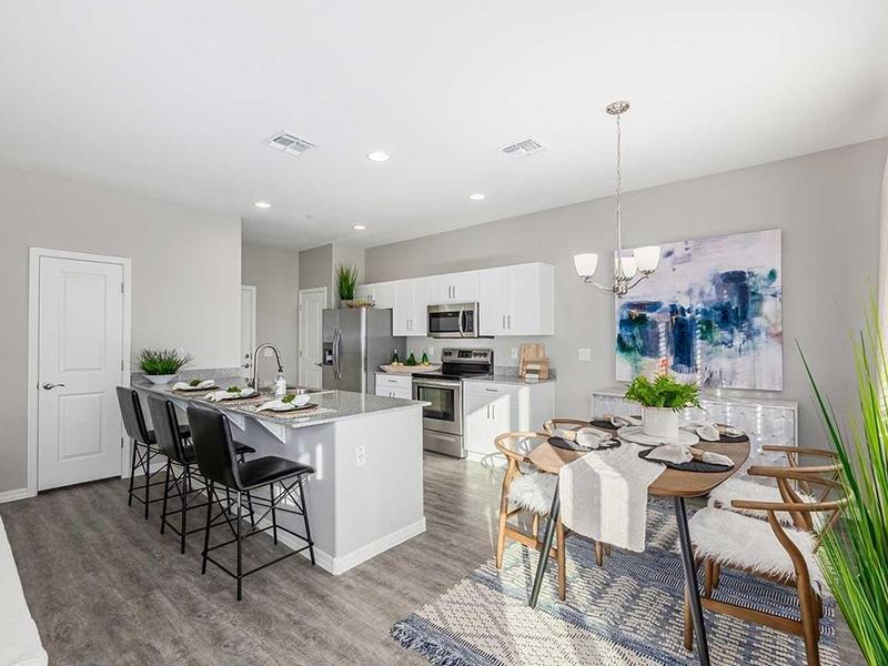 Dining Area & Kitchen | Lyra Residences